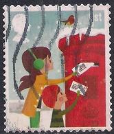 GB 2014 QE2 1st Class Christmas SG 3651 Used Stamp ( F1373 ) - 1952-.... (Elizabeth II)