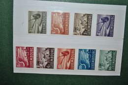 Luxembourg 1946 PA MNH Complet - Neufs