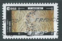 FRANKREICH FRANCIA FRANCE 2018 ESA 1er Janvier 2017 Champs Irrigués Et Reliefs En Arabie Saoudite - France