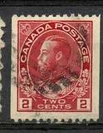 Canada 1913 2 Cent Admiral Coil Issue #132 - 1911-1935 Reign Of George V
