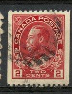 Canada 1913 2 Cent Admiral Coil Issue #132 - 1911-1935 Règne De George V