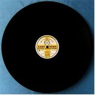 78 Rpm Record Shellac / Disque Shellac - Chœur De La Chapelle Giulia : Libera Me - In Paradisum - 78 T - Disques Pour Gramophone