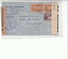 Cuba / Airmail / Cuban Censorship / Switzerland / Bermuda - Sin Clasificación