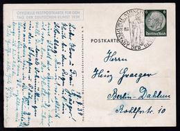 Tag Der Deutschen Kunst München 1939 Mit Sonderstempel Nach Berlin-Dahlem - Allemagne