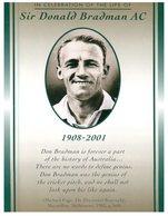 (PF 625) Australia - Sir Donald Bradman AC (famous Cricketer) - Cricket