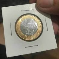 LSJP BRAZIL COIN 1 REAL 2017 - UNC - Brazil