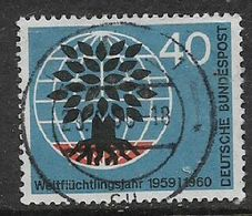 Germany, 1960, 40 Pf, Refugee Year, C.d.s. Used - [7] Federal Republic