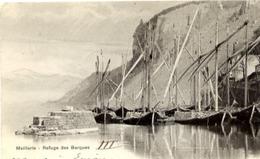 74 MEILLERIE - Refuge Des Barques (voiliers) - Carte Précurseur - France