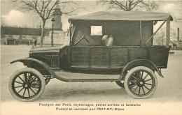 TRANPORTS. Fourgon Sur Ford Rayonnage Portes Arrières Fourni Et Carrossé Par Privat à Dijon (21) - Camions & Poids Lourds