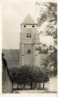 91 LONGJUMEAU - Rare Carte-photo - L'Église - Longjumeau