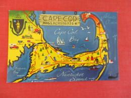 Map - Massachusetts > Cape Cod      Ref 3047 - Cape Cod
