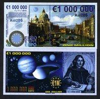 Europe, 1000000 (1,000,000) Euro, POLYMER, 2016, UNC - Copernicus - Billets