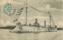 WW Promotion : Navires, Bateaux, Paquebots Et Marine De Guerre. Le COËLLOGON Croiseur - Guerre