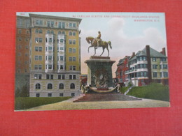 Civil War  McClellan  Statue  Washington DC        Ref 3047 - Personaggi Storici