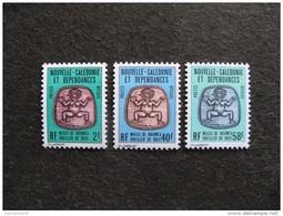 Nouvelle-Calédonie: TB Série Timbres De Service N° 38 Au N°40 , Neufs XX . - Dienstpost