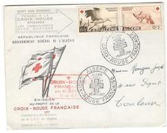 6692 - CROIX ROUGE à ALGER - Covers & Documents
