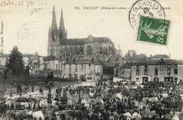 CHOLET  (Maine Et Loire) Le Marché Aux Boeufs RV - Cholet