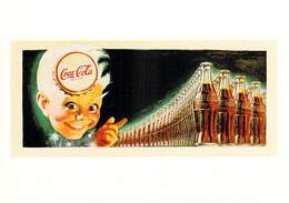 Publicité PUB-COCA-COLA (enfant)- ART Ou PUBLICITE Rétrospective 20/12/95-27/2/96 CARROUSEL Du LOUVRE - Advertising