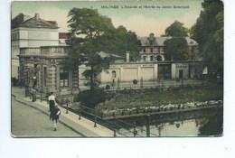 Malines Mechelen L'Athénée Et L'Entrée Du Jardin Botanique - Malines