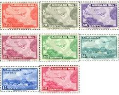 Ref. 338814 * MNH * - LIBERIA. 1942. AVIATION . AVIACION - Liberia