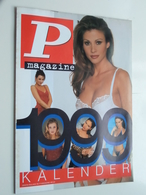 P Magazine KALENDER 1999 ( Zie Foto's Voor & Achter / Formaat A4 ) Bijlage Bij P Magazine Nr. 53 > Zie Beschrijving ! - Calendars