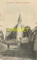 35 Luitré, Tour Du XIII ème Siècle, Cycliste Au 1er Plan...., Carte Pas Courante - Other Municipalities