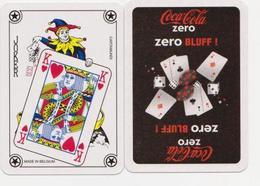 "JOKER Sur Carte à Jouer "" COCA-COLA BLUFF"" (scann Recto-verso)_Di099 - Playing Cards"
