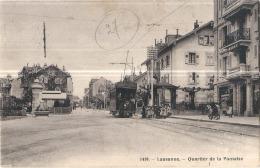 ***  VD  *** LAUSANNE   Quartier De Pontaise - Timbrée TB - VD Waadt