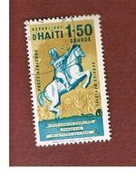 HAITI  - MI D8 -  1962 OFFICIAL STAMP: J.J. DESSALINES  - USED° - Haiti