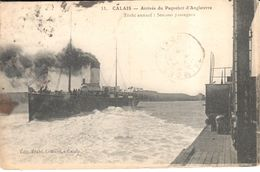 (62) Pas De Calais - Calais - Arrivée Du Paquebot D'Angleterre - Calais