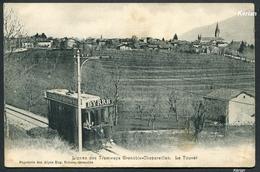 38 Isère - Lignes De Tramways Grenoble-Chapareillan - Le Touvet - Pap. Des Alpes Eug. Robert - Voir 2 Scans - Tramways