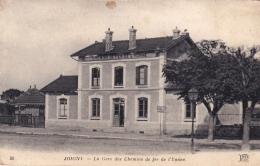 89 - Yonne -   JOIGNY -  La Gare Des Chemins De Fer De L Yonne - Joigny
