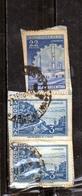 ARGENTINA 1959 1970 1960 CATAMARCA CUESTA DE ZAPATA SLOPE PESOS 3p + 1962 INDUSTRIA INDUSTRY 22p USATO USED OBLITERE' - Argentina