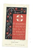 IMAGE PIEUSE..Mariage De Robert BARRE Et France LEBOUGRE, Eglise De LONLAY L'ABBAYE (61) En 1950 - Images Religieuses