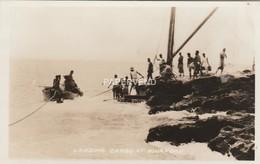 TONGA Landing Cargo At Neiafu RP  Opi14 - Tonga