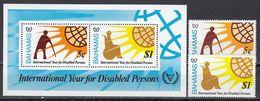Bahama - DISABLED PERSONS 1981 MNH - Bahamas (1973-...)