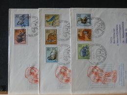 78/519    3 FDC  DDR - Postzegels
