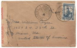 ANGOLA (Portugal) 1941 South Africa Censored Cvr - CHINGUAR - 1.75a Da Gama Franking - RPO On Reverse - To - Angola
