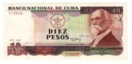 Kuba 10 Pesos 1991 AUNC - Cuba