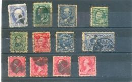 Petit Lot ETATS UNIS Anciens - Lots & Kiloware (mixtures) - Max. 999 Stamps