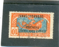 1925 OUBANGUI Y & T N° 63 ( O ) 10c - Used Stamps