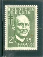 1953 BELGIQUE Y & T N° 934 ( * ) E. Malvoz - Nuevos