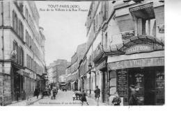 PARIS   TOUT PARIS  Rue De La VILLETTE à LA RUE FESSART - Arrondissement: 19