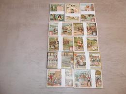 Beau Lot De 50 Series Anciens De LIEBIG ( 300 Chromos )       Mooi Lot Van 50 Oude Series Van LIEBIG ( 300 Prenten ) - Liebig