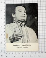 MIŠA ONEŠČUK,VOKALNI SOLISTA RTV VOJVODINE-FOTOGRAFIJA SA ORIGINALNIM AUTOGRAMOM -PHOTO With ORIGINAL Autograph(YU02-81) - Musique Et Musiciens