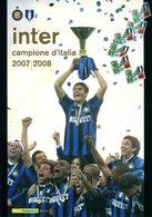 (TV01813) Folder 2008  Inter Campione D'Italia - 6. 1946-.. Repubblica