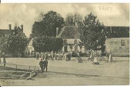 02 - PANCY / CARTE POSTALE ALLEMANDE - France
