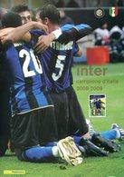 (TV01815) Folder 2009  Inter Campione D'Italia - 6. 1946-.. Repubblica