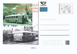 Rep. Ceca / Cart. Postali (Pre2011/14) 70 ° Anniversario Del Traffico Di Filobus A Pilsen (1941-2011) - Bus