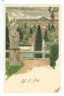 1903, Heinrich Kley,  Germany, Potsdam, Sanssouci. Printed Chromo Art Pc, Written Never Posted. - Potsdam